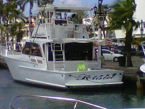 35ft Bertram sport fisher boat